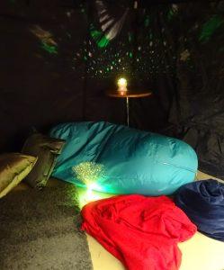 PYC sensory tent